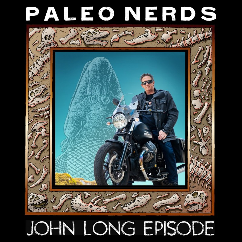 Episode #11 The Origin of Human Anatomy is in Old Dead Fish with John Long