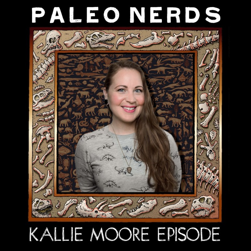 Episode #18 Eons of Epic Epochs with Fossil Librarian Kallie Moore
