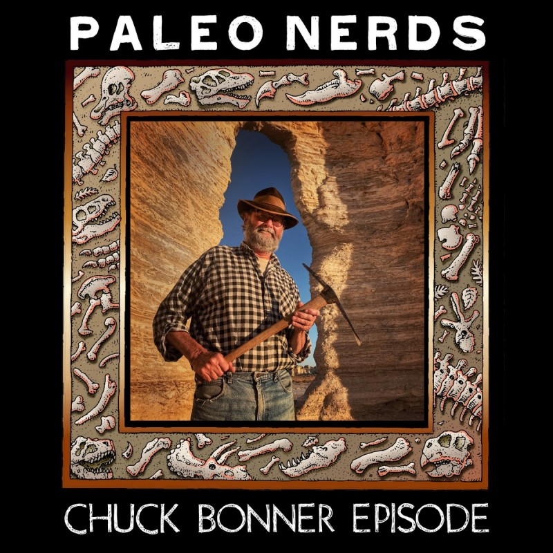 Episode #19 My Favorite Fossil is the Next One with Chuck Bonner