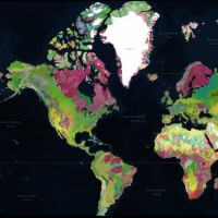The ENTIRE planet Earth and it's surface geology