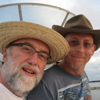 Dave and Ray in the Amazon