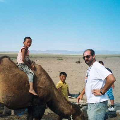 Luis in Mongolia, 2003
